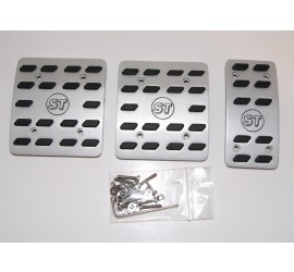 Aluminium pedal pads, 3 pieces for Defender TD4 / TD5