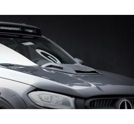 Carlex Design Bonnet Cover (Line-X) Mercedes-Benz X-Class