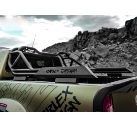 Carlex Design StyleBar Extreme - Mercedes X-Class, Line-X coating or black powder coated