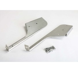 Stainless steel mud flaps brackets for Land Rover Defender 110/130