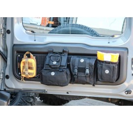 Tailgate Organizer for Suzuki Jimny to 2018 and from 2019