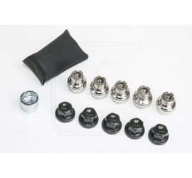 Lockable wheel nut set for alloy wheels Land Rover Defender 90/110/130