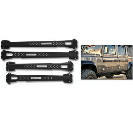 Equipe 4x4 door handle protection bar set for Land Rover Defender.