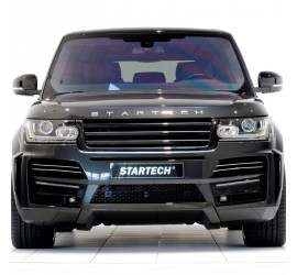 STARTECH Front bumper, PUR R-RIM, incl. LED Position / daytime running lights and LED fog lights, Range Rover from 2013