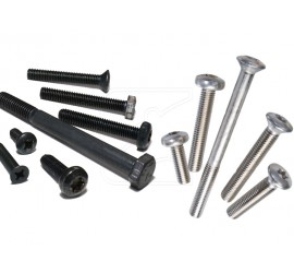 Stainless Steel Screw Kit for Land Rover Defender 90 SW / 90 HT / 90 Soft Top, black or natural