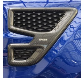 STARTECH Carbon side air intake covers in high-gloss finish, set. Only for SVR Range Rover Sport from 2014