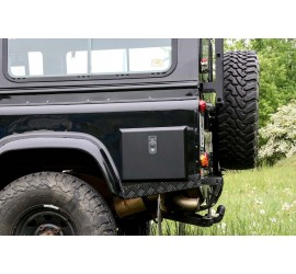 Exterior storage box for Land Rover Defender 110 from 1992 Tdi,Td5, Td4