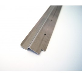 Stainless steel sill for loading area / rear door for Land Rover Defender 90/110