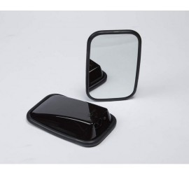Premium wing mirror head varnish black for Land Rover Defender