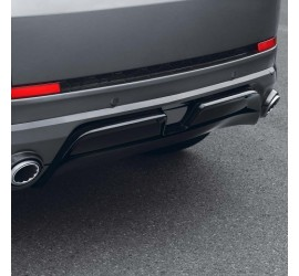 STARTECH Rear skirt attachment, with integrated exhaust tips  for Discovery Sport