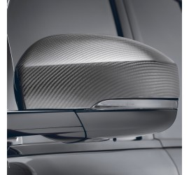 STARTECH Carbon mirror cover, high-gloss finish, set, for Range Rover Sport from 2014