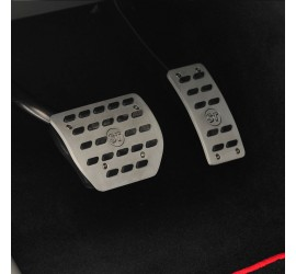 STARTECH Aluminium pedal pads, automatic transmission or manual transmission, for Range Rover Evoque