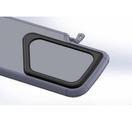 Mirror for sun visor for Land Rover Defender
