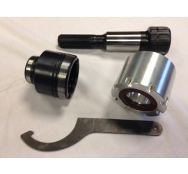 Improved layshaft for MT82 gearbox for Land Rover Defender TD4 Puma