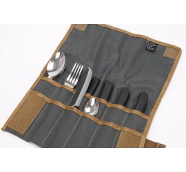 Tool Roll MINI - Hungry Edition - incl. stainless steel cutlery, Nakatanenga