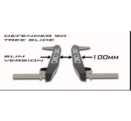 "Tree sliders for Defender 90 "" Slim Version "" 100mm wide"
