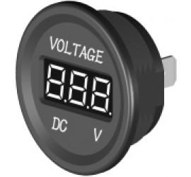 Voltmeter for 12V/24V, built-in